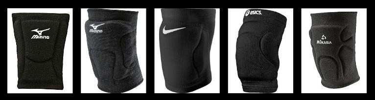 mizuno black volleyball knee pads
